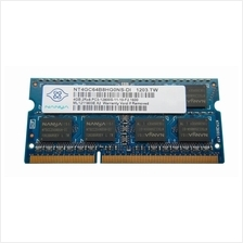Nanya 4GB DDR3-12800S 1600Mhz Notebook Memory Ram - NT4GC64B8HG0NS-DI