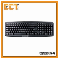 Imperion IP-K1 Double Spring Standard Business Office Keyboard (Black)