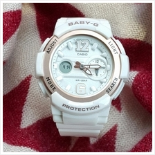 (Copy Original) G-Shock Baby-G Fashion Sport Watch - White Rose Gold