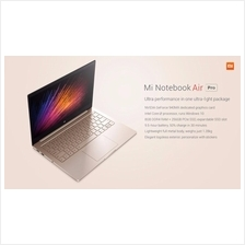 Xiaomi Original 13.3 Mi notebook Air Pro i7 3.1Gh 8GB 256SSD laptop PC