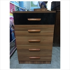 5 Drawer Chest Storage Cabinet Bedroom Office Furniture