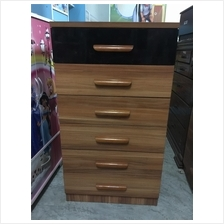 6 Drawer Chest Storage Cabinet Bedroom Office Furniture