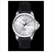CERTINA C014.407.16.031.00 DS First Gent Day-Date Automatic LSB Silver