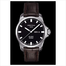 CERTINA C014.407.16.051.00 DS First Gent Day-Date Automatic LSB Black