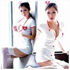 9994 SEXY NURSE SUIT UNIFORM COSPLAY SET (Sexy Lingerie With Panty)