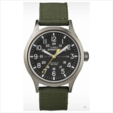 TIMEX T49961 (M) Expedition Scout date nylon strap black green