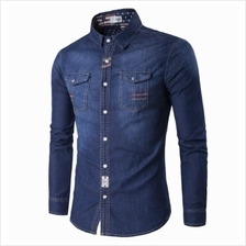 JF TG132T Men´s Long Sleeve Denim Shirts - 2 Colors