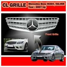 Mercedes BENZ W204 08-09 CL Silver Sport Grille