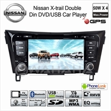 NISSAN X-TRAIL OEM Double Din DVD USB Bluetooth Aux In GPS Car Audio Player