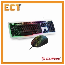 CLiPtec RZK260 Meteor-Neo USB LED Illuminated Keyboard & Mouse Combo