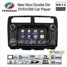 PERODUA MYVI OEM Double Din DVD USB Bluetooth Aux In GPS Car Audio Player