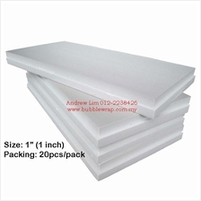 Polystyrene Foam Board 1 Inch 2x4ft (10pcs) *Free Shipping