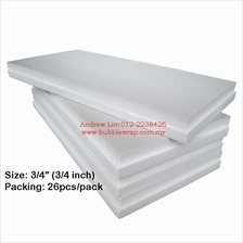 Polystyrene Foam Board 3/4 Inch 2x4ft (13pcs) *Free Shipping
