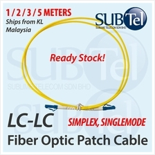 LC-LC Single Mode Optical Fiber Patch Cord FTTH SMF 1M 2M 3M 5M Cable