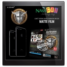 ★X-One Matte anti-fingerprint screen protector iPhone 7 / 7 Plus