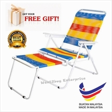 Traditional foldable string relax chair Kerusi Malas Made In Malaysia