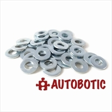 M3 Flat Washer (Zinc Plated) - 10pcs per Pack