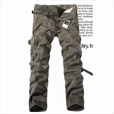 Mizora Men Military Loose Straight Long Pants Trousers (6 Color) MT059582)