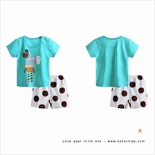 Little Donkey Comfortable Cotton Baby Set Wear)