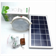 Outdoor Solar Powered 18 LEDs Garden Lamp With Remote Control