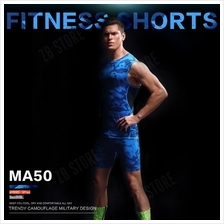ZEEBE Men Sport Compression Short Pants Under Tight Fitness GYM MA50