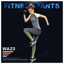 ZEEBE Women Sport Compression Long Pants Under Tight Fitness GYM WA23