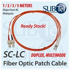 LC-SC Multimode Optical Fiber Patch Cord FTTH SMF 1M 2M 3M 5M Cable