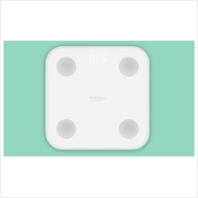 Original XIAOMI Mi Body Fat Smart Scale White Generation 2 V2 II