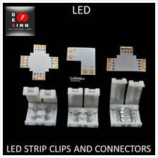LED Strip Clips Connectors 2 pins 4 pins for 5050 / 3528