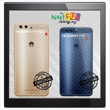 ★ Huawei P10 / P10 Plus Transparent Carbon Fiber Back Sticker