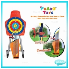 PRADO Archery Toxophily Set Bow Sports Game Kids Toys with Infrared