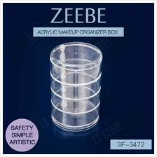 ZEEBE Makeup Acrylic Storage Box Cosmetic Jewelry Organizer SF-3472