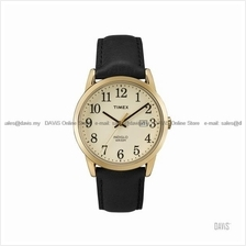 TIMEX TW2P75700 (M) Easy Reader date leather strap cream brown