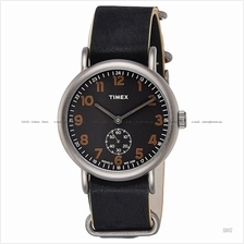 TIMEX TW2P86700 (M) Weekender Small-second Slip-Thru leather black