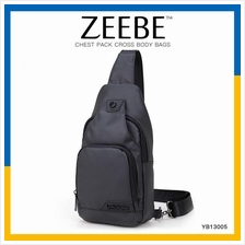 ZEEBE Cross Body Sling Bag Chest Pack with Adjustable Strap YB13005