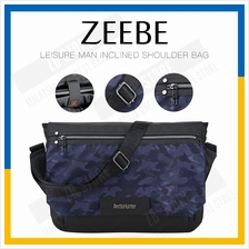 ZEEBE Cross Body Messenger Bag Chest Pack with Adjustable Strap B2003