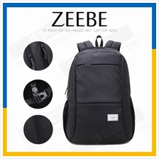 ZEEBE Water-Resistant Backpack Laptop Traveling Business Bag YB2005