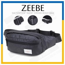 ZEEBE Cross Waist Sling Bag Chest Pack with Adjustable Strap YB14001
