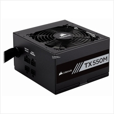 CORSAIR TX-M SERIES TX550M 80 PLUS GOLD CERTIFIED POWER SUPPLY