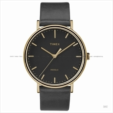 TIMEX TW2R26000 (M) The Fairfield classic leather strap black