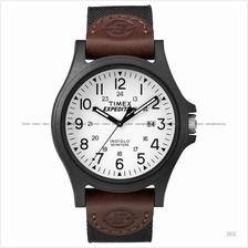 TIMEX TW4B08200 (M) Expedition Acadia date mixed nylon leather black