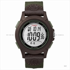 TIMEX TW4B10000 (M) Expedition Basic Digital mixed nylon leather green