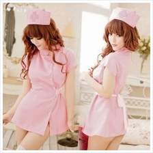 9771 SEXY NURSE SUIT PINK UNIFORM COSPLAY SET (Sexy Lingerie)