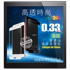 ★ HODA 0.33mm 2.5D Full Coverage Tempered Glass R9s R9s Plus