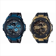 CASIO GST-200CP G-SHOCK ana-digi steel guard crystal pattern resin