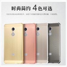 REDMI NOTE 4X SNAPDRAGON Glossy Slim Metal bumper with Back Case
