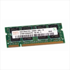 Hynix 1GB PC2-6400 DDR2-800MHz HYMP112S64CP6-S6-AB-C Notebook RAM