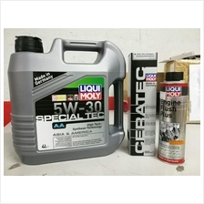 LIQUI MOLY 3 IN 1 FULLY 5W30 PACKAGE ENGINE FLUSH&TREATMENT ELIXER
