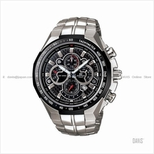 CASIO EF-554SP-1AV EDIFICE chronograph SS bracelet black carbon