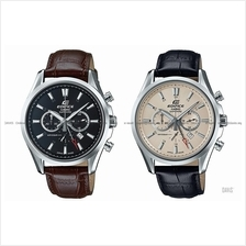 CASIO EFB-504JL EDIFICE chronograph sapphire Made in Japan leather